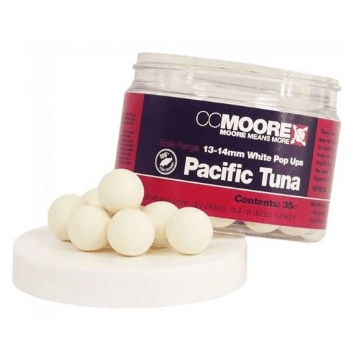 CC Moore Pacific Tuna White Pop Up 13-14mm
