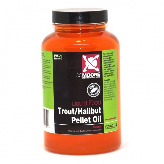CC Moore Trout/Halibut Pellet Oil