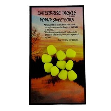 Enterprise Tackle Pop Up Sweetcorn Fluoro Yellow