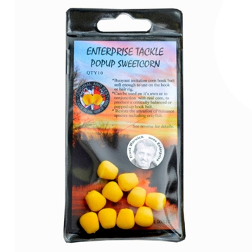 Enterprise Tackle Pop Up Sweetcorn Yellow Unflavoured