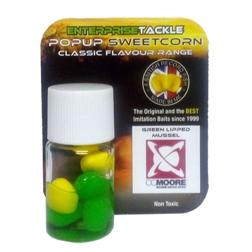 Enterprise Tackle Classic Popup Sweetcorn Range CC Moore GLM Green Lipped Mussel