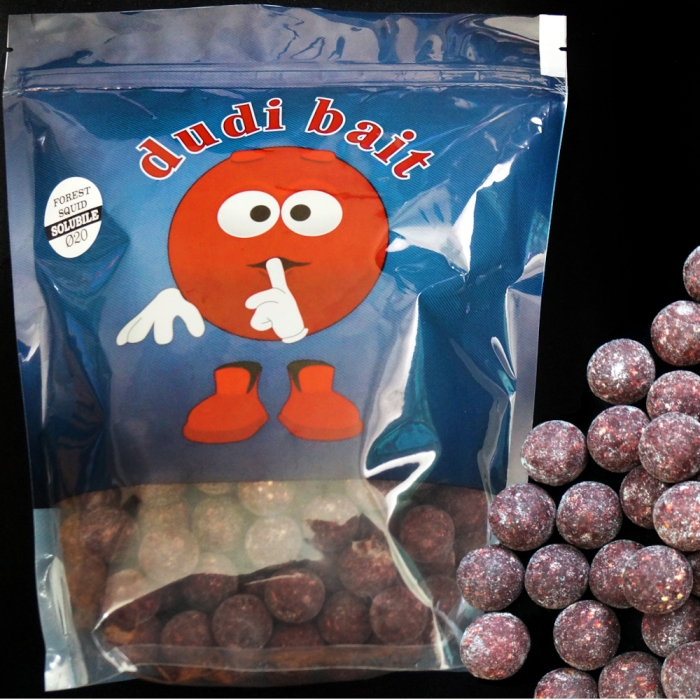 Dudi Bait Forest Squid Soluble Boilies